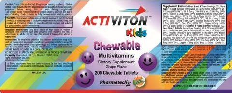 Activiton chewable